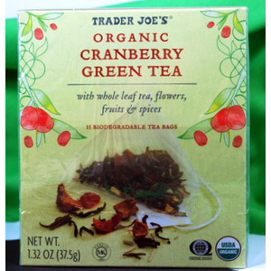 Trader Joe's - Organic Cranberry Green Tea