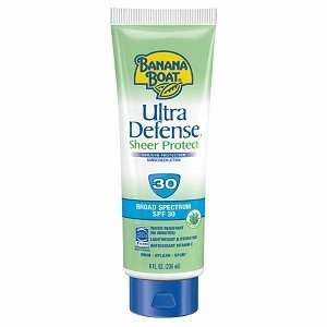 Banana Boat Ultra Defense Faces Broad Spectrum Sunscreen Lotion SPF 30