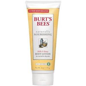 Burt's Bees Naturally Nourishing Milk & Honey Body Lotion