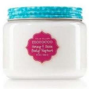Bath & Body Works True Blue Morocco Honey & Date Body Yoghurt