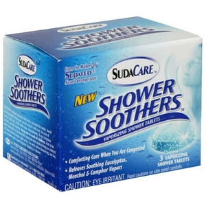 SudaCare Shower Soothers Vaporizing Shower Tablets