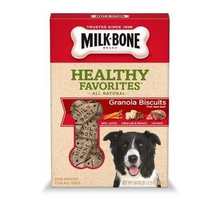 Milk Bone Healthy Favorites Granola Biscuits with Real Beef