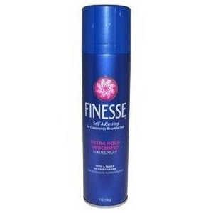 Self Adjusting Extra Hold Unscented Hair Spray