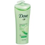 Dove Beauty Body Lotion Go Fresh Cool Moisture 13.5 fl oz