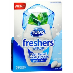 Tums Freshers Antacid in Cool Mint