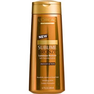 L'Oreal Sublime Bronze Luminous Bronzer Self-Tanning Lotion