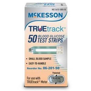 TRUEtrack Glucose Test Strips