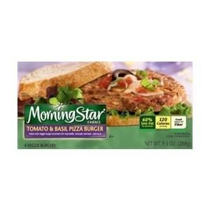 Morning Star Tomato & Basil Pizza Burger