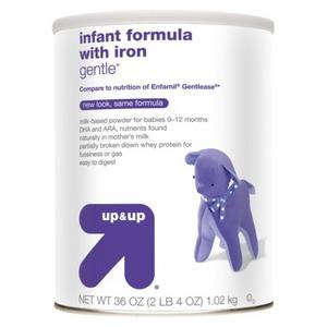 up & up Infant Formula Gentle