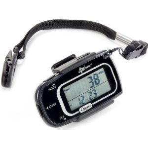 Ozeri 4x3motion Digital Pocket 3D Pedometer with Tri-Axis Technology
