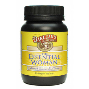 Barlean's The Essential Woman Organic Oils 1000 mg
