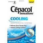 Cepacol Cooling Sensations Throat Lozenges - Ice Cool