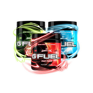 G Fuel Sugar Free Dietary Supplement - All Flavors