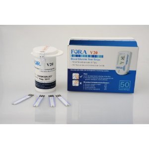 FORA V30a Blood Glucose Test Strips