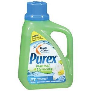 Purex Natural Elements Laundry Detergent - Linen & Lilies