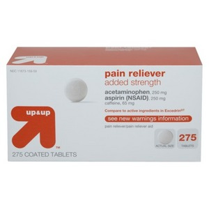 up & up Pain Reliever Added Strength
