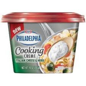 Kraft Philadelphia Cooking Creme Italian Cheese & Herb