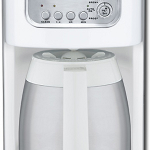 Cuisinart 10-Cup Classic Thermal Programmable Coffeemaker, Black (Black,10-c.) DCC-1150BK