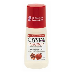 Crystal Essence Roll-on Mineral Deodorant - Pomegranate