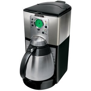 Mr. Coffee 10-Cup Thermal Coffeemaker, Stainless Steel