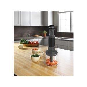 KitchenAid 3-speed Immersion Blender, Onyx Black KHB2351OB
