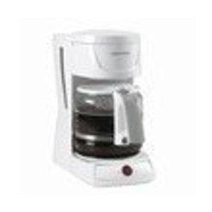 Black & Decker 12-Cup Drip Coffeemaker, White
