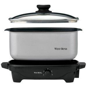 West Bend 5-Quart Oblong-Shaped Slow Cooker