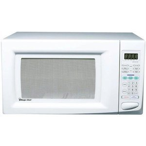 Magic Chef 1.6cf 1100 White Microwave ( )
