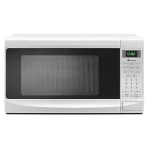 Amana 0.7 cu. ft. Countertop Microwave, , White