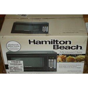 Hamilton Beach 0.9 Cu. Ft. 900 Watt Digital Microwave Oven, Black