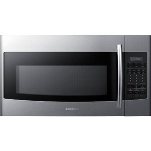 Samsung 30 in 1.8 cu. ft. Over the Range Microwave 1,100 Watts, 400 CFM - Stainless Steel