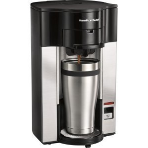 Hamilton Beach Personal Cup Stay or Go POD Brewer - 49993