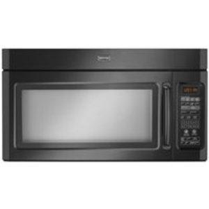 Maytag 1.8 cu. ft. 1100 Watt Combination Range Hood Microwave - Black