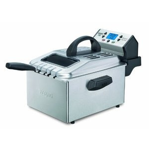 Waring Professional Deep Fryer, Brushed Stainless