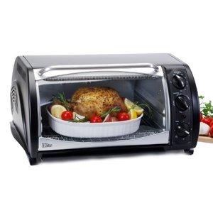 Maxi-Matic ETO-730B Elite Gourmet 20-Liter 1500-Watt Convection Toaster Oven