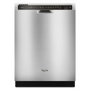 Whirlpool Stainless Steel Full Console 24 Inch Dishwasher