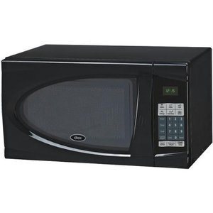 Oster 0.9-Cubic Feet Countertop Microwave Oven, 900-Watt, Black
