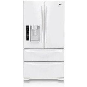 LG 24.7 cu. ft. French Door Bottom-Freezer Refrigerator LMX25981SW