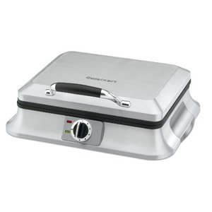 Cuisinart WAF-6 Traditional-Style 6-Slice Waffle Iron, Brushed Stainless Steel WAF%2D6