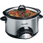 Crock-Pot 5-Quart Round Programmable Slow Cooker 38501