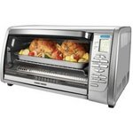 Black & Decker Stainless Steel Countertop Convection Oven
