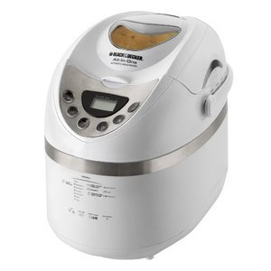Black & Decker All-In-One Automatic Breadmaker for 1-1/2 to 2-Pound Loaves