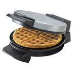 Black & Decker Chrome Belgian Waffle Maker