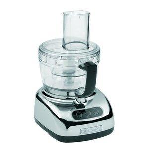 KitchenAid 9-Cup Food Processor with 4-Cup Mini Bowl, Chrome