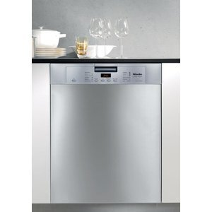 Miele Full Console Dishwasher w/Cutlery Basket - Stainless Steel