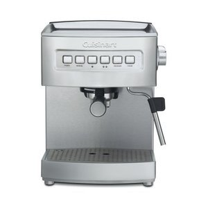 Cuisinart Programmable 15-Bar Espresso Maker, Stainless Steel EM-200