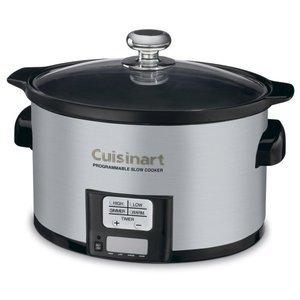 Cuisinart 3-1/2-Quart Programmable Slow Cooker PSC-350
