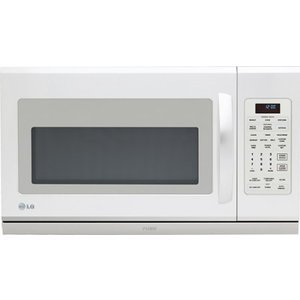 2.0 Cu. Ft. Over-the-Range Microwave with Digital Controls 1100 Watts 10 Power Levels Sensor Cooking Turntable Extenda Vent and Charcoal Filter White