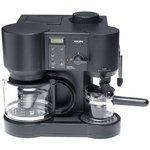 Krups Il Caffe Bistro 10-Cup Coffee/4-Cup Espresso Maker 867-42