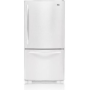 LG22.4  cu. ft. Bottom Freezer Refrigerator